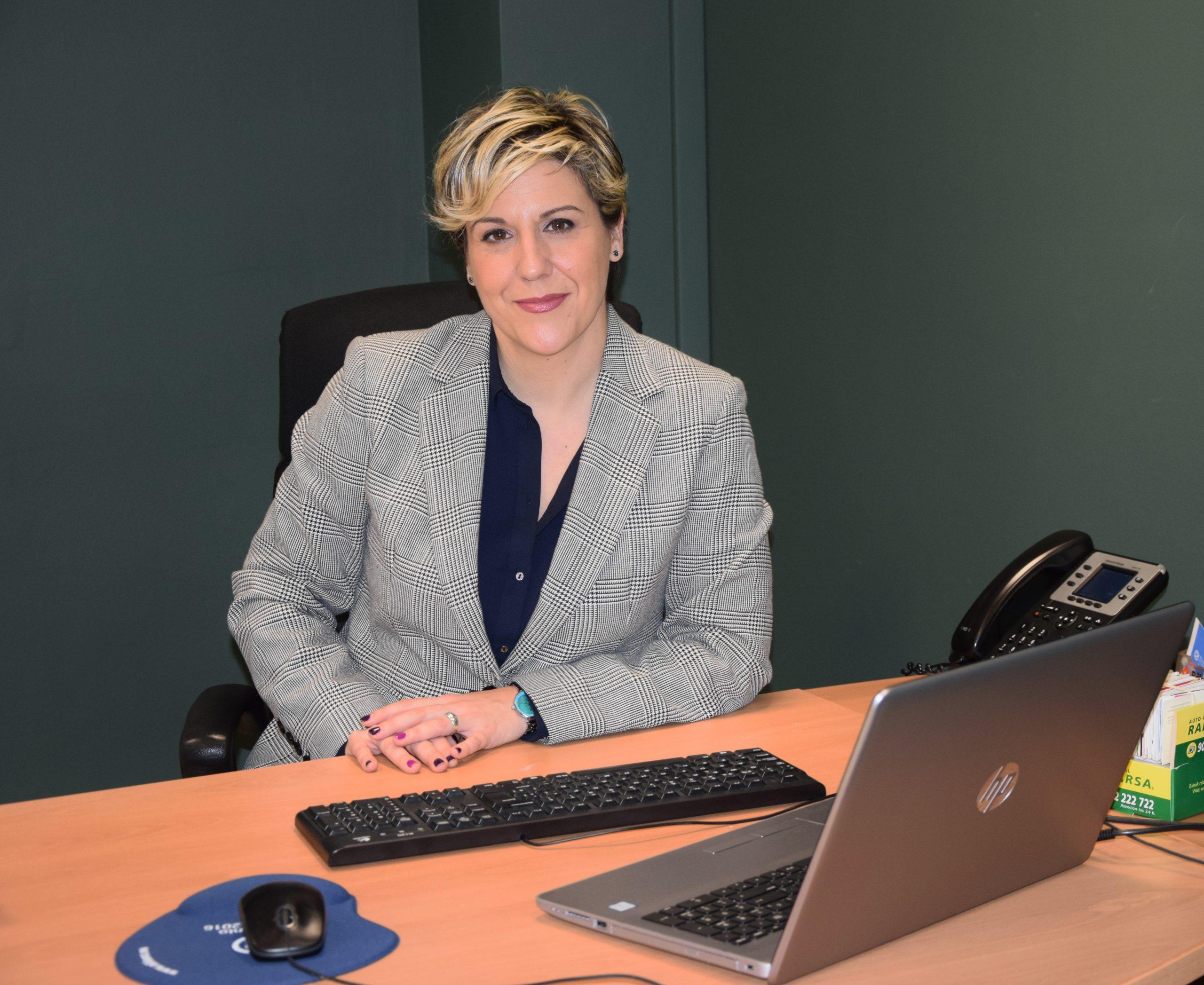 Marta Correcher, responsable del área de Seguros de Crédito y Caución en López Torrijos