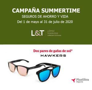 López Torrijos te regala unas gafas de sol Hawkers con tu Seguros de Vida y Ahorro