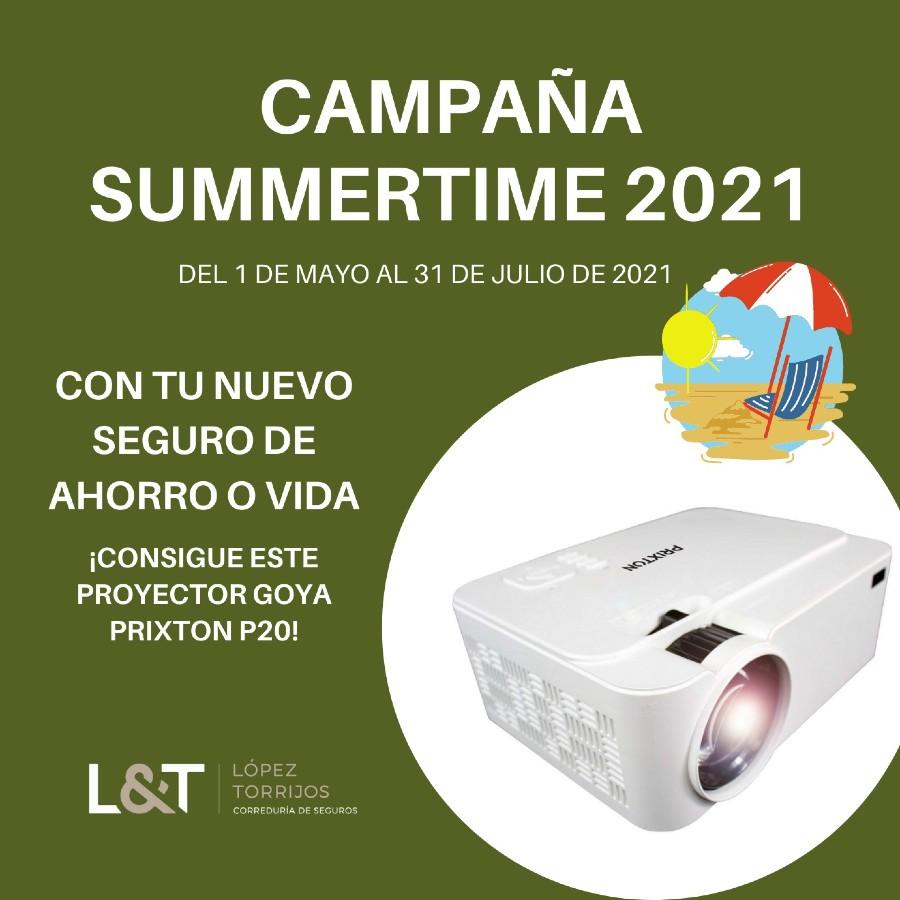 López Torrijos te regala un fantástico proyector con tu nuevo Seguro de Ahorro o Vida