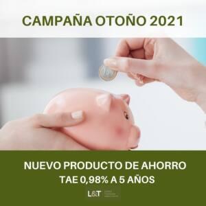 López Torrijos lanza un nuevo producto de ahorro a cinco años con TAE 0,98%